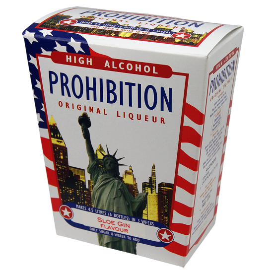 Prohibition Sloe Gin - High Alcohol Liqueur Ingredient Kit