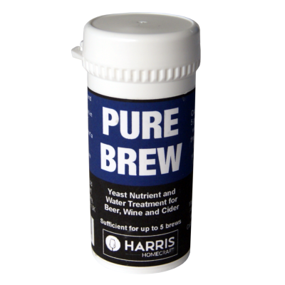 Harris Pure Brew - Nutrient And Water Treatment For Beer - Wine And Cider