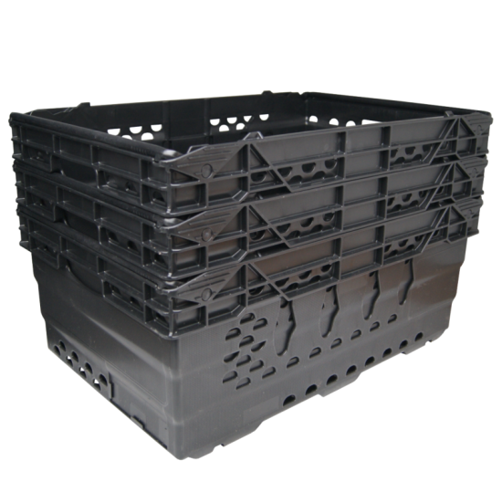Heavy Duty Stacking & Nesting Storage Crate - (Large)