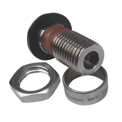 S30 Stainless Co2 Pressure Top Up Valve With Piercing Pin