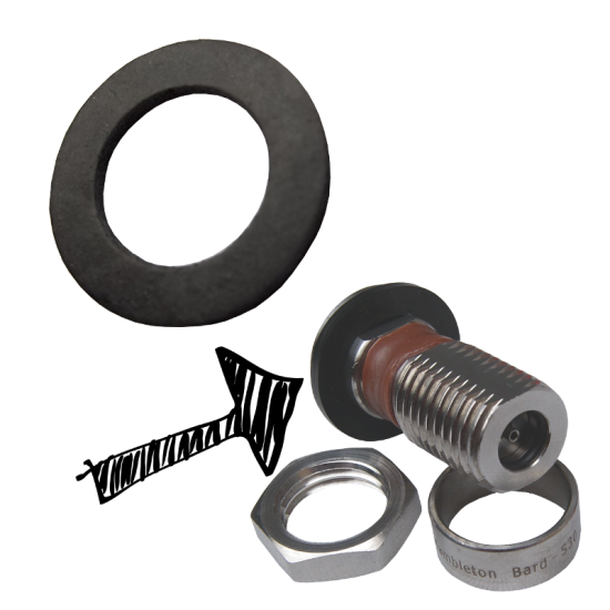 S30 Valve To Cap Sealing Washer - Pack Of 2