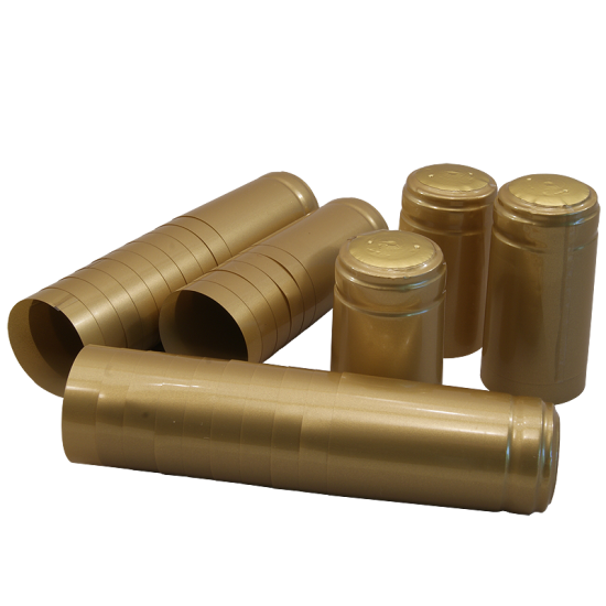Shrink Capsules Gold - Pack of 30