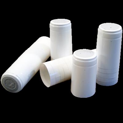 Shrink Capsules White - Pack of 30