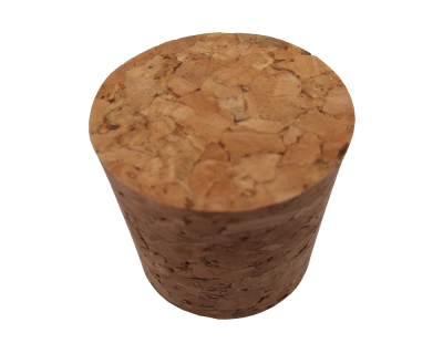 Single Solid Cork Bung For Demijohn