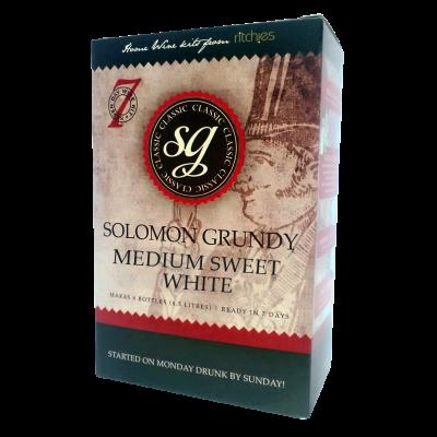 Solomon Grundy Classic 6 Bottle - Medium Sweet White