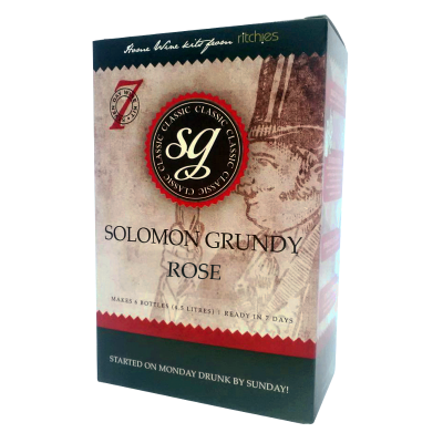 Solomon Grundy Classic - 6 Bottle Rose