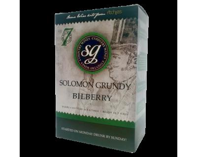 Solomon Grundy Country 6 Bottle Bilberry Fruit Wine