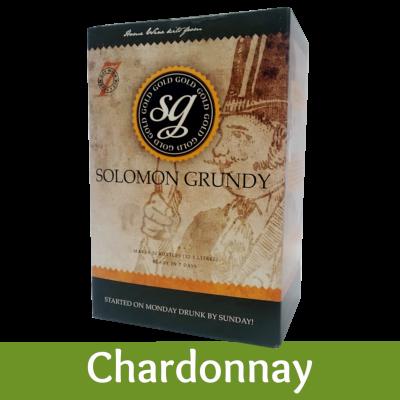 Solomon Grundy Gold 30 Bottle White Wine Ingredient Kit - Chardonnay
