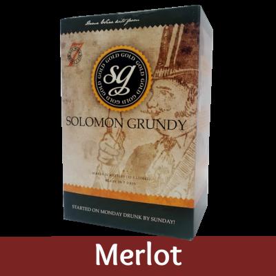 Solomon Grundy Gold 30 Bottle Red Wine Ingredient Kit - Merlot