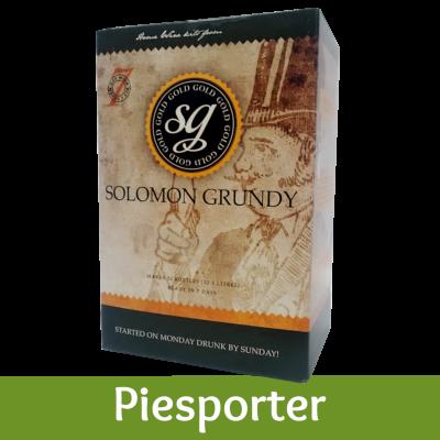 Solomon Grundy Gold 30 Bottle White Wine Ingredient Kit - Piesporter