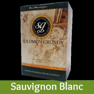 Solomon Grundy Gold 30 Bottle White Wine Ingredient Kit - Sauvignon Blanc