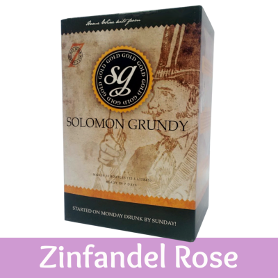 Solomon Grundy Gold 30 Bottle Rose Wine Ingredient Kit - Zinfandel Rose