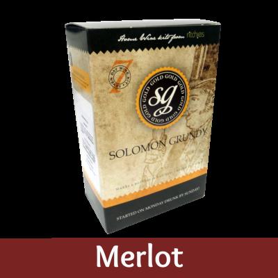 Solomon Grundy Gold 6 Bottle - Merlot