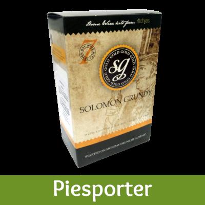Solomon Grundy Gold 6 Bottle - Piesporter