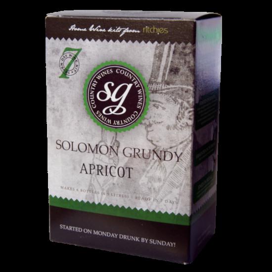 Solomon Grundy Country 6 Bottle Apricot Fruit Wine