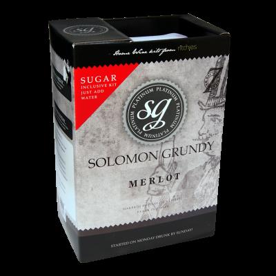 Solomon Grundy Platinum 30 Bottle - Merlot