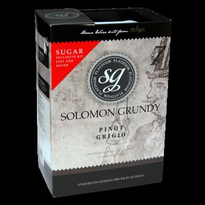 Solomon Grundy Platinum 30 Bottle - Pinot Grigio