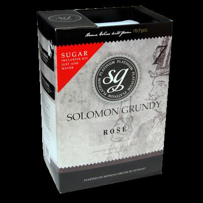 Solomon Grundy Platinum 30 Bottle - Rose