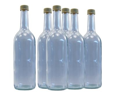 750ml Spirit / Mineral Water / Juice - Glass Bottle - Pack Of 9