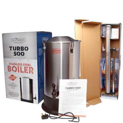 Still Spirits Turbo 500 - T500 - Complete Set - Boiler And Stainless Steel Column