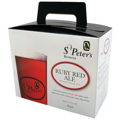 St Peters 3kg - Ruby Red Ale