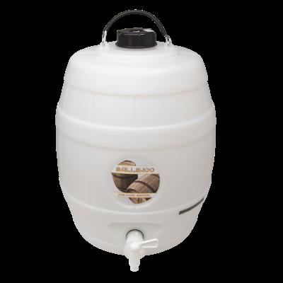 Balliihoo 5 Gallon Pressure Barrel / Beer Keg With LCD Temperature Indicator