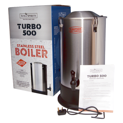 Still Spirits Turbo 500 - T500 - 25 Litre Stainless Steel Boiler