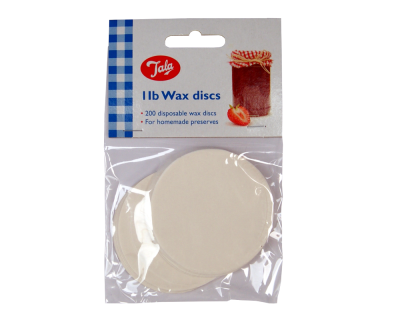 Pack Of 200 Wax Discs - 6cm Diameter - To Fit Traditional 1lb Jam Jars