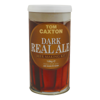SPECIAL OFFER - Tom Caxton Dark Real Ale - 40 Pint Ingredient Kit - Dented Tin
