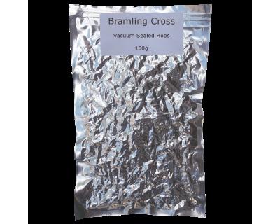100g Vacuum Foil Packed - Bramling Cross Whole Leaf Hops
