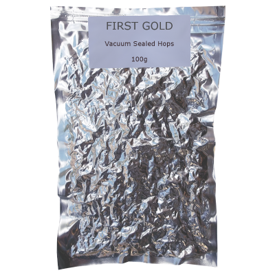100g Vacuum Foil Packed - First Gold Whole Leaf Hops
