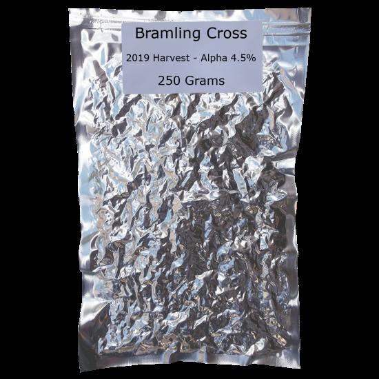 SPECIAL OFFER - 250g Vacuum Foil Packed - Bramling Cross Whole Leaf Hops - 2019 Harvest