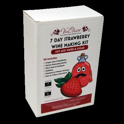 Vinclasse Fruit Wines - 6 Bottle - Strawberry