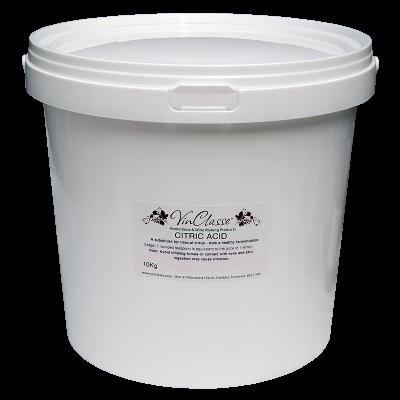 VinClasse Citric Acid 10Kg Bucket