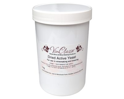 VinClasse - Dried Active Wine Yeast - 1Kg Bulk Tub