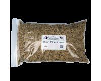 Dried Elderflowers - 1kg Bulk Bag
