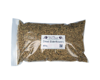 Dried Elderflowers - 500g Bag