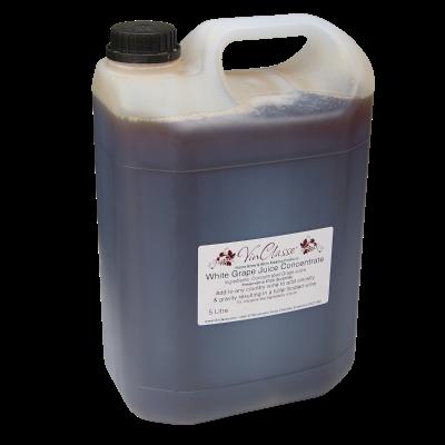 VinClasse 5 Litre White Grape Juice Concentrate