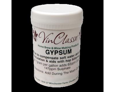 VinClasse Calcium Sulphate Gypsum 100 Gram Tub