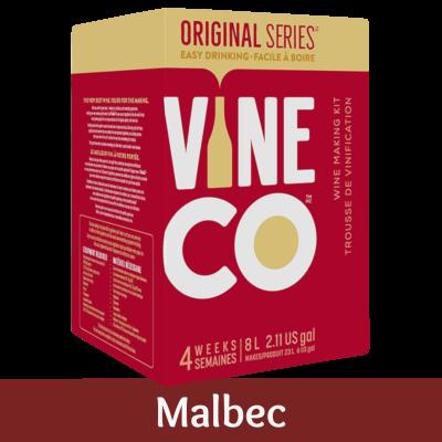 Vineco Original Series 30 Bottle Red Wine Ingredient Kit - Malbec