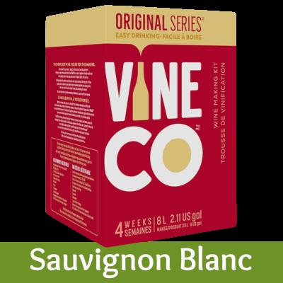 Vineco Original Series 30 Bottle White Wine Ingredient Kit - Sauvignon Blanc