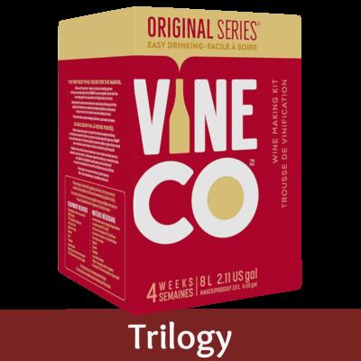 Vineco Original Series 30 Bottle Red Wine Ingredient Kit - Trilogy