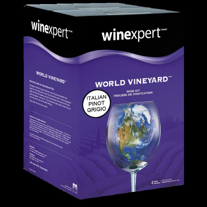 30 Bottle Solomon Grundy Platinum Homebrew Wine Ingredient Kit Pinot Grigio