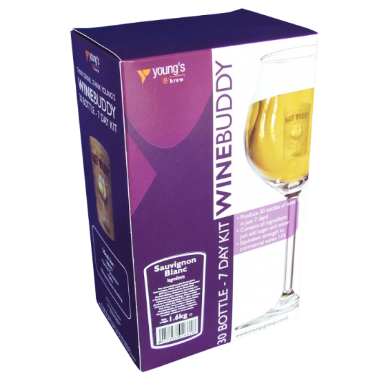 SPECIAL OFFER - Winebuddy 30 Bottle Sauvignon Blanc - Damaged Box