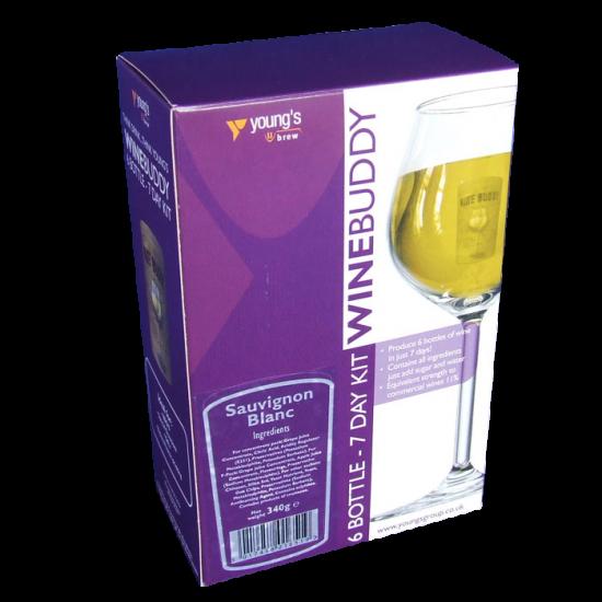 Winebuddy 6 Bottle Refill - Sauvignon Blanc