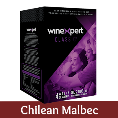 Winexpert Classic - Chilean Malbec - 30 Bottle Red Wine Ingredient Kit