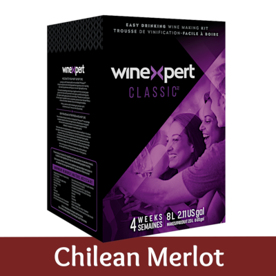 Winexpert Classic 30 Bottle - Chilean Merlot Red Wine Ingredient Kit