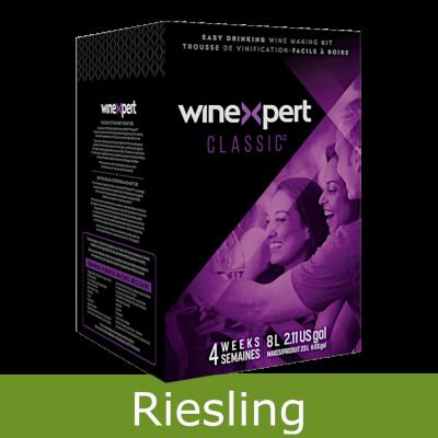 Winexpert Classic - Washington Riesling - 30 Bottle White Wine Ingredient Kit