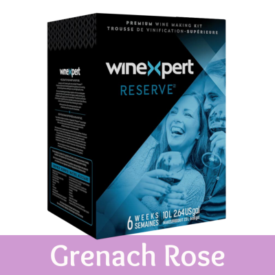 Winexpert Reserve 30 Bottle Blush Wine Ingredient Kit - Australian Grenache Rose