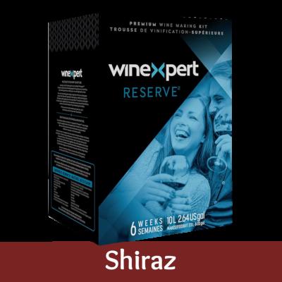 Winexpert Reserve 30 Bottle Red Wine Ingredient Kit - Australian Shiraz